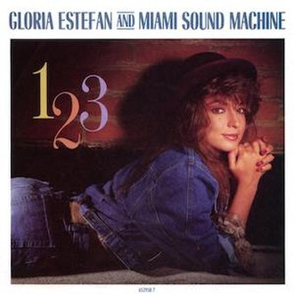 1-2-3 (Gloria Estefan and Miami Sound Machine song) - Image: 123 single cover