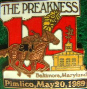 1989 Preakness Stakes - Image: 1989 Preakness Logo