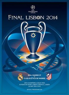 2014 UEFA Champions League Final final match of the 2013–14 UEFA Champions League
