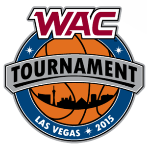 2015 WAC Men's Basketball Tournament - Image: 2015 WAC B Ball Logo