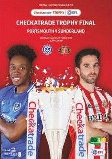 2019 EFL Trophy Final Football match