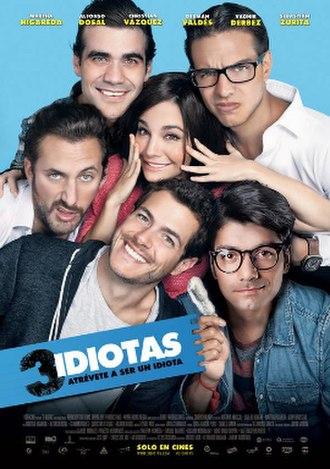 3 idiotas - Image: 3 idiotas póster