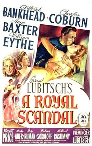 A Royal Scandal (film) - theatrical poster