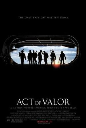 Act of Valor - Theatrical release poster