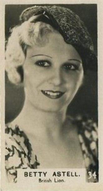 Betty Astell - Bridgewater 3rd Series of Movie Star Trading Cards (1934)