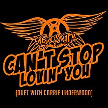 Aerosmith Can't Stop Lovin' You.jpg
