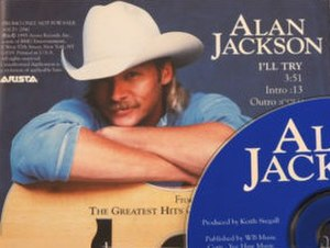 I'll Try - Image: Alan Jackson Ill Try single cover