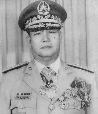 Alfredo M. Santos - GEN Alfredo M. Santos AFP