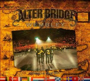 Alter Bridge: Live at Wembley - Image: Alter Bridge Live at Wembley
