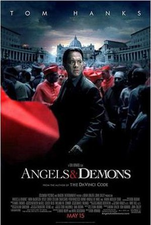 Angels & Demons (film) - Theatrical release poster