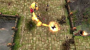 Assault Heroes 2 - Assault Heroes 2 gameplay screenshot.