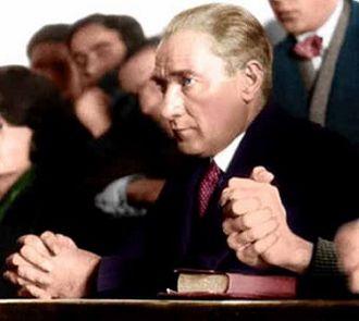 Secularism in Turkey - President Mustafa Kemal Atatürk envisaged Turkey as a secular republic, an ideology known as Kemalism