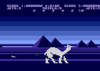 Attack of the Mutant Camels - Atari 8-bit version