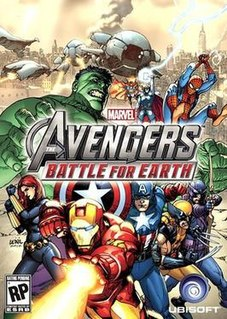 <i>Marvel Avengers: Battle for Earth</i> video game