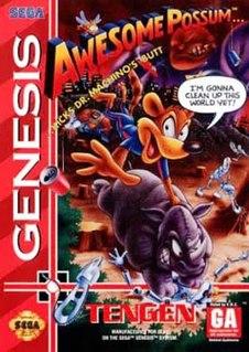 <i>Awesome Possum... Kicks Dr. Machinos Butt</i> 1993 video game
