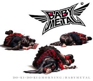 Doki Doki Morning - Image: BABYMETAL Doki Doki Morning Cover