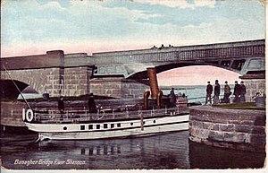 Banagher bridge - Banagher Bridge in the 19th Century