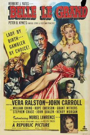 Belle Le Grand - Theatrical release poster