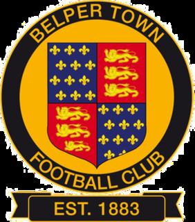 Belper Town F.C. Association football club in England