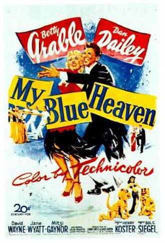 My Blue Heaven (1950 film) - Image: Blueheaven