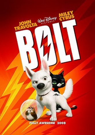Bolt (2008 film) - Theatrical release poster