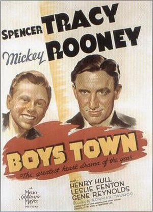 Boys Town (film) - Theatrical release poster