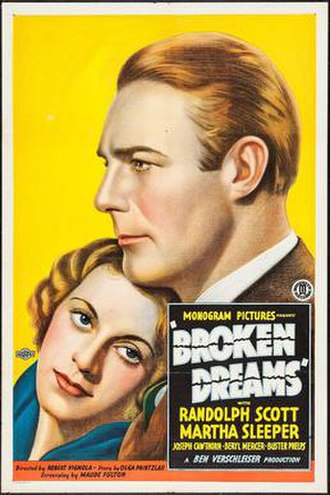 Broken Dreams (1933 film) - Image: Broken Dreams (1933 film)