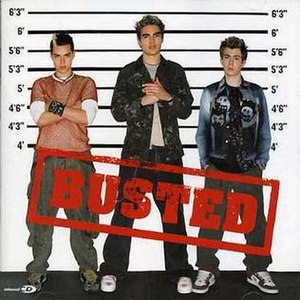 Busted (2002 Busted album) - Image: Busted cover with logo