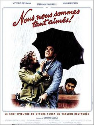 We All Loved Each Other So Much - Theatrical poster for the French release of the film