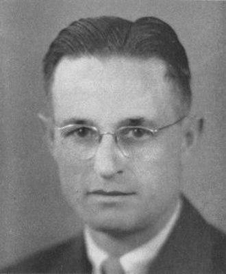 Wix Garner - Garner pictured in Sequel 1943, Western Illinois yearbook