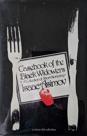 Casebook of the Black Widowers - Cover of first edition, 1980
