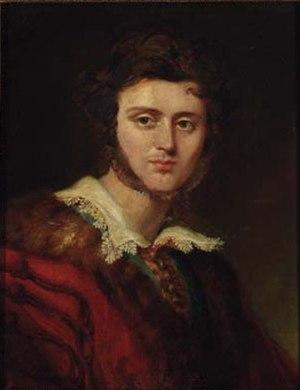 Alexandre Colonna-Walewski - Portrait of Alexandre Walewski in 1832, school of George Hayter