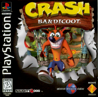 Crash Bandicoot (video game) - North American box art