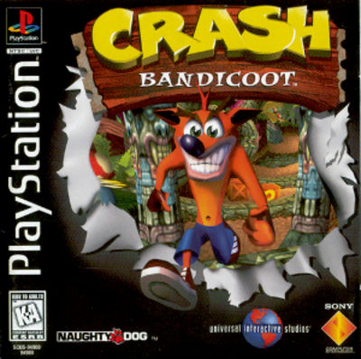Picture of a game: Crash Bandicoot