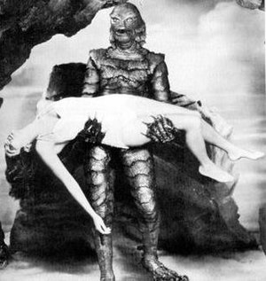 Gill-man - The Gill-man, as portrayed by Ben Chapman in Creature from the Black Lagoon.