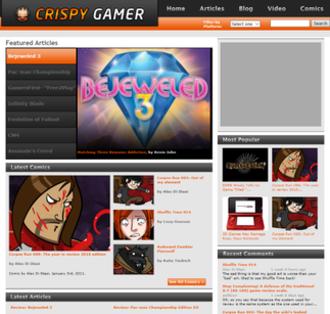 Crispy Gamer - Image: Crispy Gamer screenshot