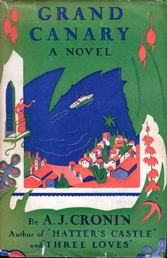 Grand Canary (novel) - First US edition
