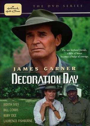 The DVD cover of Decoration Day (TV film), dir...