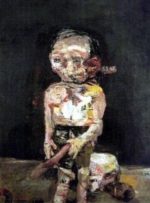 Neo-expressionism - Georg Baselitz, Die große Nacht im Eimer, 1963