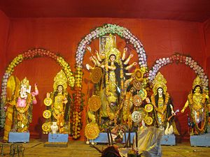 Domjur - Durga Puja