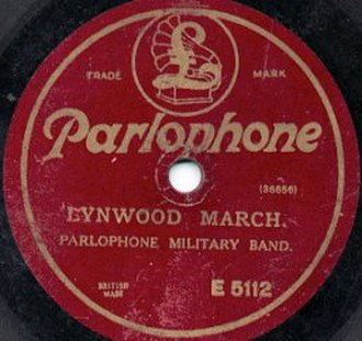 Parlophone - Image: Early Parlophone Label