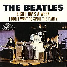 The Beatles — Eight Days a Week (studio acapella)