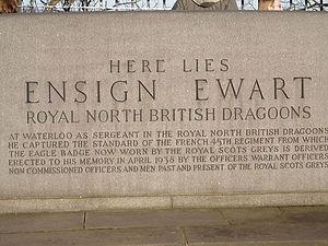 Charles Ewart - Ensign Ewart's grave
