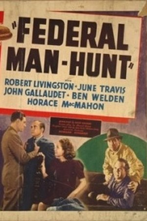 Federal Man-Hunt - Theatrical release poster