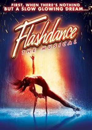 Flashdance the Musical - West End poster