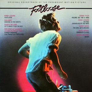 Footloose (soundtrack) - Image: Footloose soundtrack 1984
