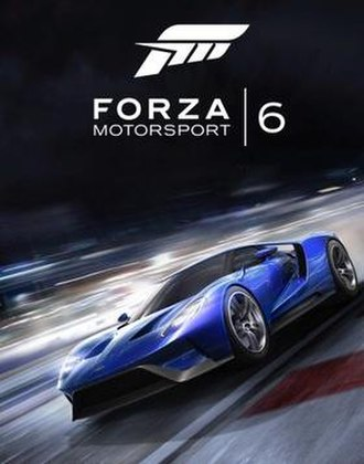 Forza Motorsport 6 - Image: Forza Motorsport 6 Cover