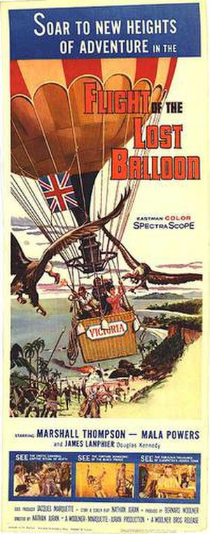 Flight of the Lost Balloon - Original film poster
