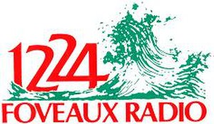 Foveaux FM - The Foveaux Radio logo from the 1980s
