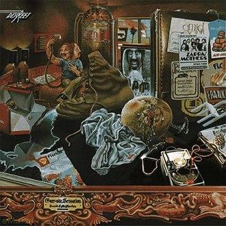 Over-Nite Sensation - Image: Frank Zappa Overnite Sensation 1973 cover